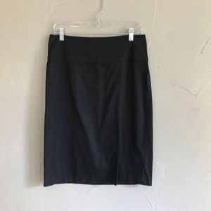 Banana Republic Black Skirt Size 6 g8
